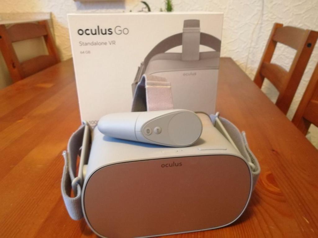 Oculus Go Lieferumfang