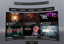 Screen Oculus Go Suche Horror