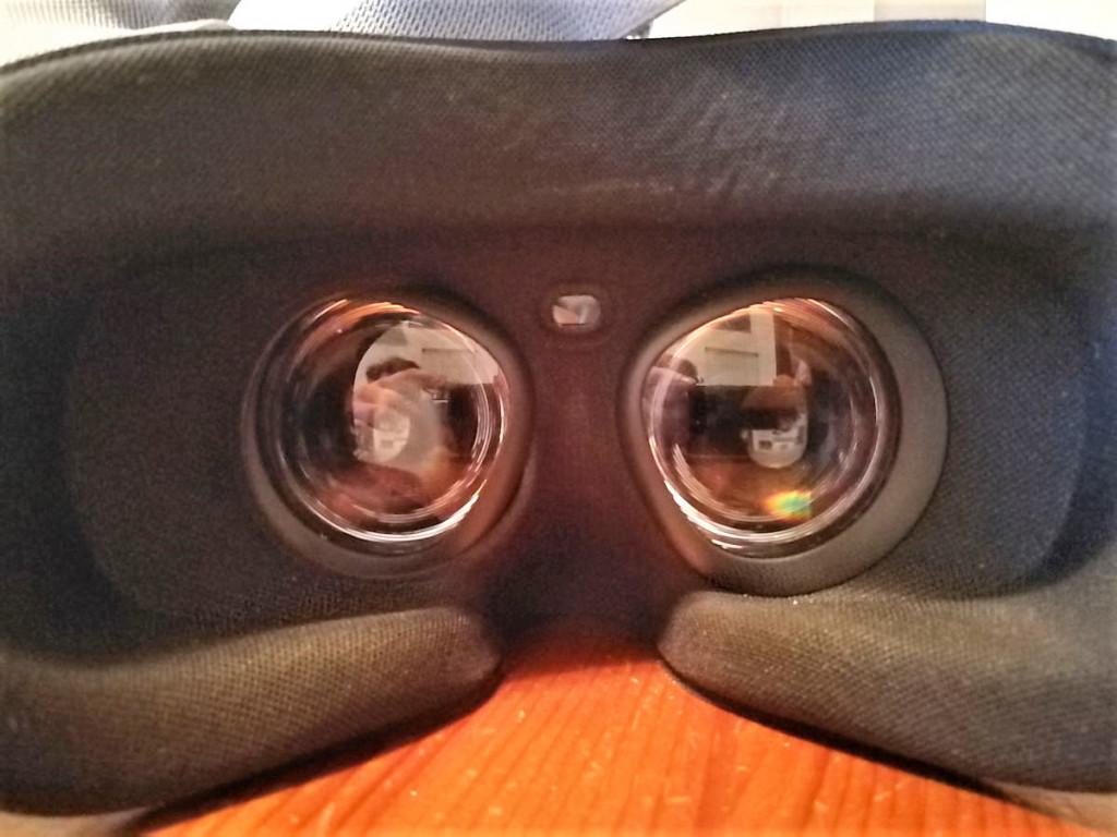 Linsen innen Oculus Go