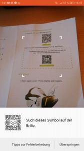 QR-Code scannen BoboVR