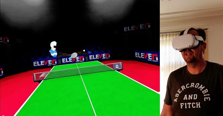 Tischtennis spielen in der Oculus Quest 2